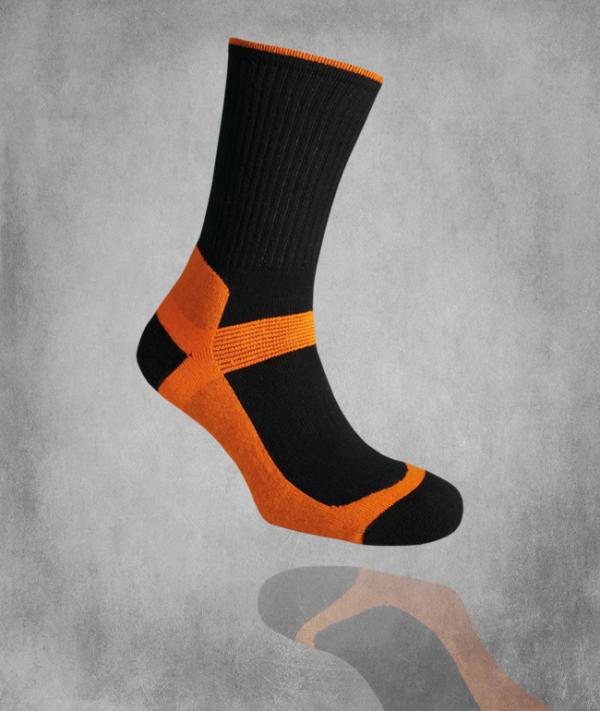 Tekninen sukka 480 / oranssi